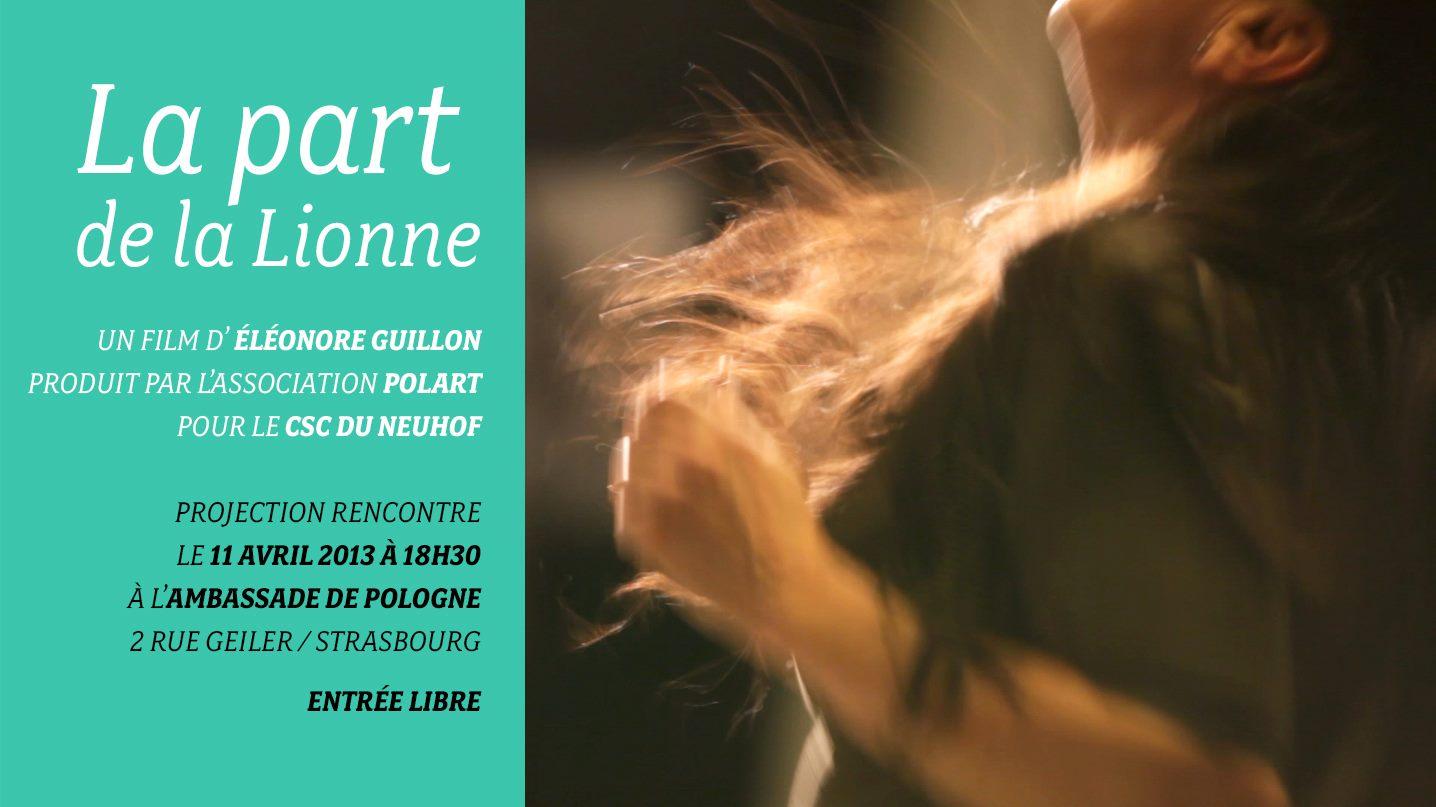 «La Part de la Lionne», un documentaire produit par POLART
