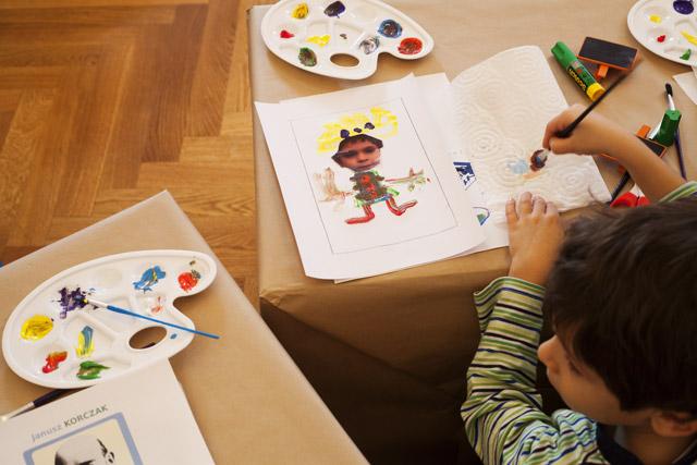 14 novembre 2012 / Atelier «Janusz Korczak, un médecin et écrivain engagé pour les droits des enfants»