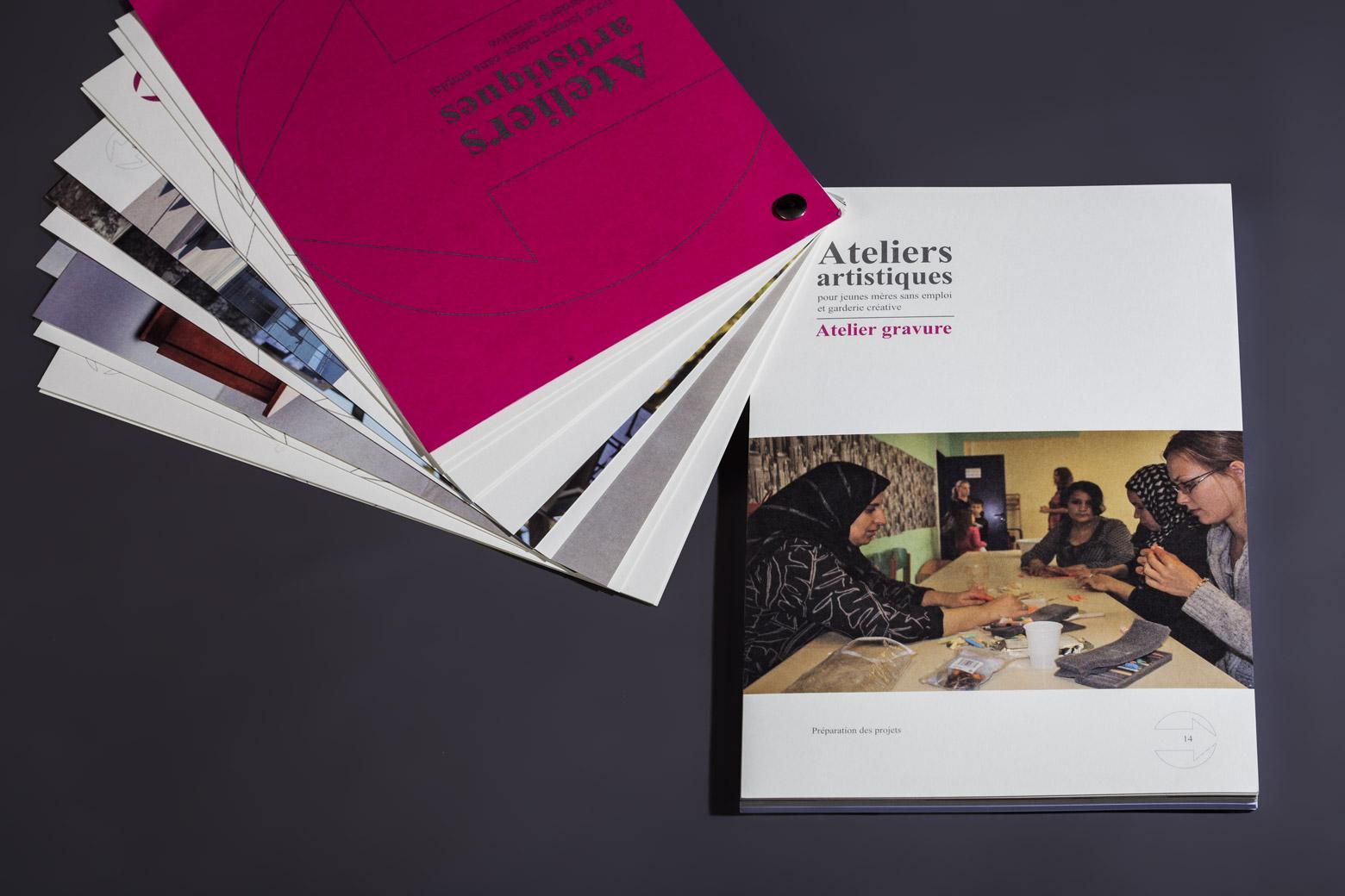 Ateliers artistiques pour femmes à Neuhof et garderie créative